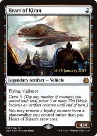 magic the gathering aether revolt promos heart of kiran 153s 184