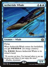 magic the gathering aether revolt promos aethertide whale 27s 184
