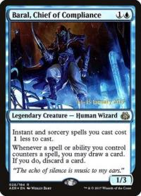 magic the gathering aether revolt promos baral chief of compliance 28s 184