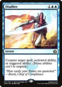 magic the gathering aether revolt promos disallow 31s 184