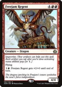 magic the gathering aether revolt promos freejam regent 81s 184