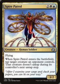 magic the gathering aether revolt spire patrol 136 184