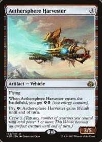 magic the gathering aether revolt aethersphere harvester 142 184