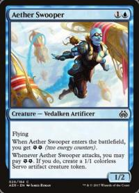 magic the gathering aether revolt aether swooper foil