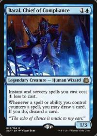 magic the gathering aether revolt baral chief of compliance foil