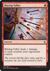 magic the gathering amonkhet blazing volley 119 269