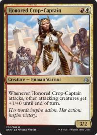 magic the gathering amonkhet honored crop captain 200 269 foil