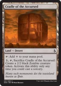 magic the gathering amonkhet cradle of the accursed 241 269 foil