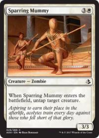magic the gathering amonkhet sparring mummy 29 269