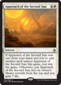 magic the gathering amonkhet approach of the second sun 4 269