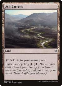 magic the gathering commander 2016 ash barrens 56 351