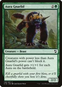 magic the gathering commander 2018 aura gnarlid 128 307