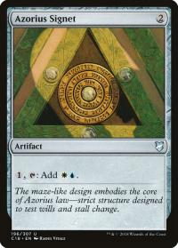 magic the gathering commander 2018 azorius signet 196 307