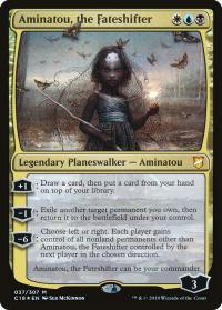 magic the gathering commander 2018 aminatou the fateshifter 37 307