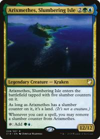 magic the gathering commander 2018 arixmethes slumbering isle 38 307