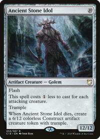magic the gathering commander 2018 ancient stone idol 53 307