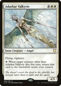 magic the gathering commander 2018 adarkar valkyrie 60 307