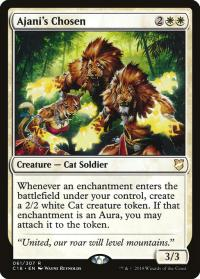 magic the gathering commander 2018 ajani s chosen 61 307