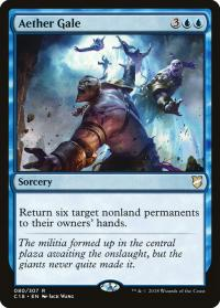 magic the gathering commander 2018 aether gale 80 307