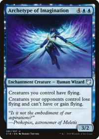 magic the gathering commander 2018 archetype of imagination 81 307