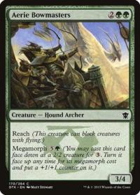 magic the gathering dragons of tarkir aerie bowmasters 170 264