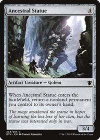 magic the gathering dragons of tarkir ancestral statue 234 264