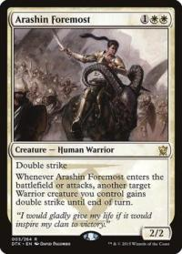 magic the gathering dragons of tarkir arashin foremost 3 264