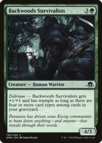 magic the gathering eldritch moon backwoods survivalists foil