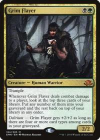 magic the gathering eldritch moon grim flayer foil