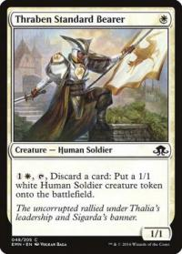 magic the gathering eldritch moon thraben standard bearer 48 205