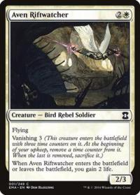 magic the gathering eternal masters aven riftwatcher 1 249