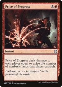 magic the gathering eternal masters price of progress 141 249