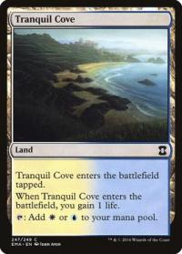 magic the gathering eternal masters tranquil cove 247 249