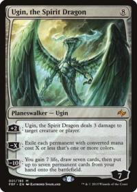magic the gathering fate Reforged ugin the spirit dragon 1 185