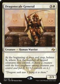magic the gathering fate Reforged dragonscale general 11 185