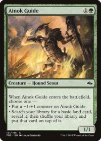 magic the gathering fate Reforged ainok guide 121 185