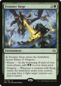 magic the gathering fate Reforged frontier siege 131 185