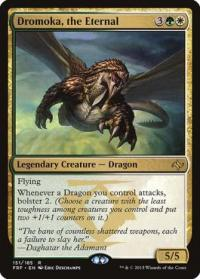 magic the gathering fate Reforged dromoka the eternal 151 185