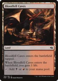 magic the gathering fate Reforged bloodfell caves 165 185