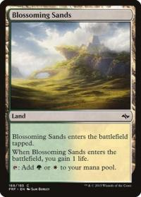 magic the gathering fate Reforged blossoming sands 166 185