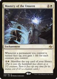 magic the gathering fate Reforged mastery of the unseen 19 185