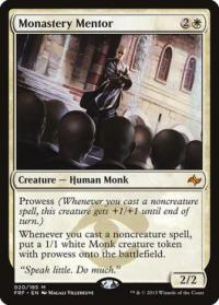 magic the gathering fate Reforged monastery mentor 20 185