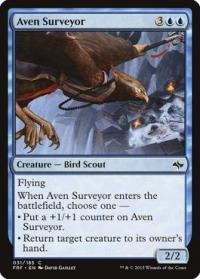 magic the gathering fate Reforged aven surveyor 31 185