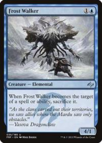 magic the gathering fate Reforged frost walker 35 185