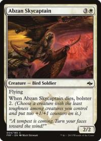 magic the gathering fate Reforged abzan skycaptain 4 185