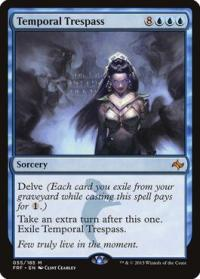magic the gathering fate Reforged temporal trespass 55 185