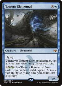 magic the gathering fate Reforged torrent elemental 56 185
