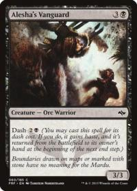 magic the gathering fate Reforged alesha s vanguard 60 185 foil