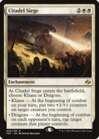 magic the gathering fate Reforged citadel siege 8 185