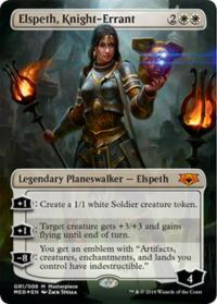 magic the gathering guilds of ravnica mythical elspeth knight errant